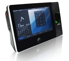 ZK BIOPAD 100 FINGERPRINT TIME ATTENDANCE WITH WIFI & CAMERA